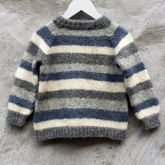 Brother / Brormand Sweater pattern by PixenDk - mediumhair. Brother / Brormand Sweater pattern by PixenDk – mediumhaircut Boys Knitting Patterns Free, Baby Sweater Patterns, Baby Cardigan Knitting Pattern, Knit Baby Sweaters, Knitting For Kids, Knitting Sweaters, Boys Sweaters, Knitting Ideas, Crochet Baby