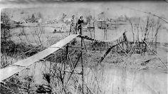 Swinging Bridges in Kentucky | The Old Swinging Bridge, West Liberty, Kentucky, 41472