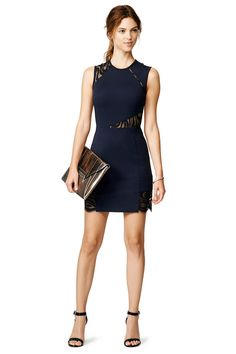 (In This Skin Sheath by Cut 25) Love this dress from the front, but...