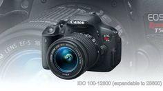 Camera Canon EOS Rebel T5i Digital SLR with 18-55mm STM Lens