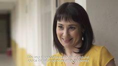 Mónica Garza entrevista a una persona con esquizofrenia