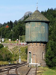 Caillou, Water Tower, Rhone, Transportation, Lego, Train, France, House Styles, Alps