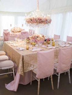 Blush Pink and Gold Wedding Decor Lustre Floral, Mod Wedding, Wedding Table, Dream Wedding, Wedding Day, Elegant Wedding, Wedding Reception, Hipster Wedding, Glamorous Wedding