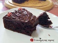 Κέικ σοκολάτας με αβοκάντο #sintagespareas