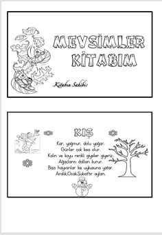 Seasons Activities, Art Activities, Reggio Emilia, Science For Kids, Pre School, Four Seasons, Karma, Worksheets, Coloring Pages