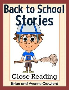 Back to School Reading Passages - Close Reading Passages $