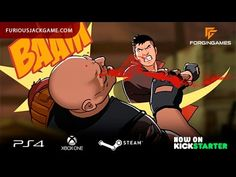 Furious Jack on Kickstarter - YouTube | https://www.kickstarter.com/projects/1586290974/furious-jack Furious Jack - 2d-beat 'em up game with platform elements, made in the best traditions of comics and with excellent 2d animation. You have to deal with the leaders of the criminal world and restore justice.  Website: http://www.furiousjackgame.com/ #Gaming #VideoGames #PCGames #Steam #XboxOne #PlayStation4 #PS4 #BeatEmUp #Forgingames