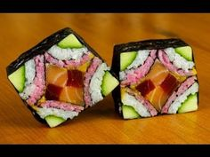 How to make mosaic sushi rolls - Learn how to create stunning sushi dishes with the guidance of self-taught sushi chef, Davy Devaux.