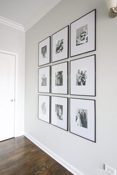 How to hang a symmetrical gallery wall in your hallway to make a statement on a blank wall. Tips to get the frames hung just right so everything is level! wall Tips to Hang a Symmetrical Gallery Wall in your Hallway Diy Wand, Blank Walls, Big Blank Wall, Hallway Decorating, Apartment Wall Decorating, Living Room Decor, Decorating A Large Wall In Living Room, Living Rooms, Living Room Wall Ideas