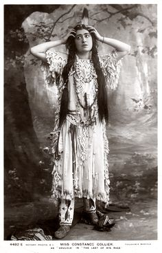 """Miss Constance Collier as Adulola in """"The Last of His Race"""" 