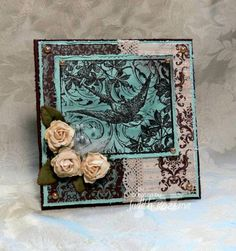 WT374 Collage Bird by StampingQueenJAR - Cards and Paper Crafts at Splitcoaststampers