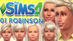 Los Sims 4 ¿Quedamos? 01 ROBINSON FAMILY♥tesasims♥