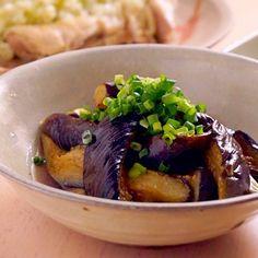 フライパンでつくる揚げない「なすの煮浸し」  |  あさこ食堂