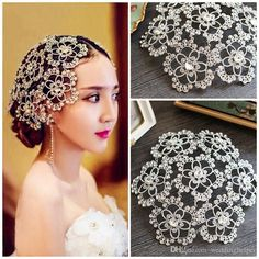 Designer Wedding Bridal Headpiece Crystal Rhinestone Flower Hair Accessories Tiara Headband Crown Queen Princess Hair Jewelry Prom Favor Bridal Accessories Hair Bridal Hair Pin From Weddinghelper, $23.74| Dhgate.Com