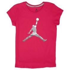 e2677065507e47 Jordan Jumbo Jumpman T-Shirt - Girls  Grade School - Basketball - Clothing -