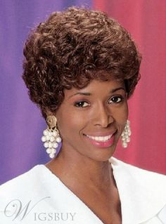 #WigsBuy - #WigsBuy Unique Short Wavy Capless Synthetic Hair Wig 8 Inches - AdoreWe.com