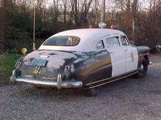 Classic police car 1949 Hudson