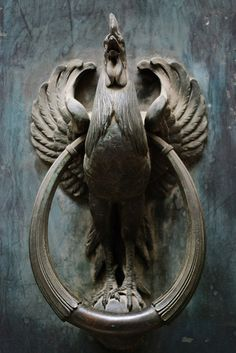 Iron Rooster / Heurtoir Gaulois by Yann Le Biannic, via Flickr