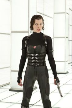 Pin for Later: 450 Pop Culture Halloween Costume Ideas Alice From Resident Evil: Retribution