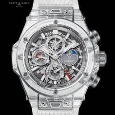 Openworked beauty in astronomical proportions. 50 Shades Trilogy, Hublot Watches, Tourbillon Watch, Perpetual Calendar, No Time For Me, Chronograph, Sapphire, Mens Fashion, Instagram Posts