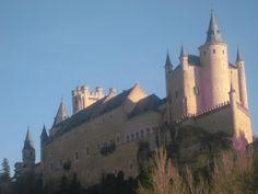 Alcazar de Segovia, Spain.
