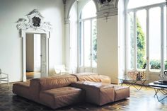 Italian contemporary Design in a antique house