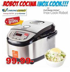 #regalos #cocina #regalosoriginales #hogar #electrodomesticos #compras #descuentos #ofertas #yougamebay Robot de cocina INOX COOK. Tienda regalos de cocina con precios baratos y envío urgente incluido. http://www.yougamebay.com/es/product/robot-de-cocina-barato-inox-cook---tienda-electrodomesticos