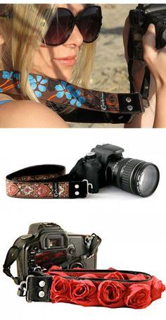 Decorative Camera Strap  by Capturing Couture