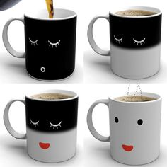 wake up with the morning mug. this is too cool!