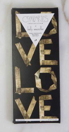 KELLY WEARSTLER X COMPARTES   L'AMOUR. Dark Chocolate Balsamic Sea Salt