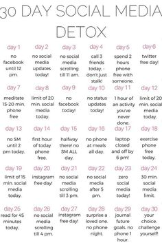 A healthy life: why you should do a 30 day social media DETOX - ka. year Fitness quotes why you should do a 30 day social media DETOX - kalein it 30 Day Challenge List, Detox Challenge, Body Challenge, Challenge Quotes, Happiness Challenge, Monthly Challenge, Day List, Challenge Accepted, Health Challenge