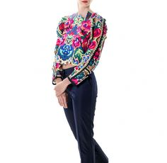 Lana Dumitru Doinita Laser Cut Top — Bora Bohème Fashion Story, New Fashion, Womens Fashion, International Fashion, Ethical Fashion, Laser Cutting, Fashion Inspiration, Kimono Top, Group