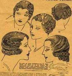 vintage hair ladies style
