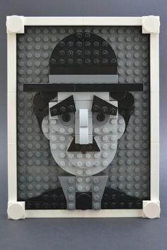 LEGO Charlie Chaplin
