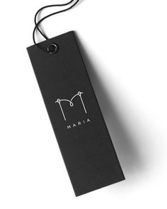 Maria (Tailor) Visual Identity by Igor Manasteriotti, via Behance