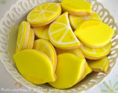 Citrus Slices and Wedges (could make yellow and pink for pink lemonade theme)