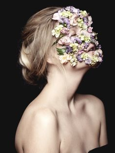 """Savage Beauty"" a tribute to Alexander McQueen — Photographer: DS Sanchez Hair: Nadia Abouwaked Makeup: Marika D'Auteuil Model: Julia @ Scoop"