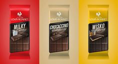 Louis Bonnet Chocolate on Packaging of the World - Creative Package Design Gallery