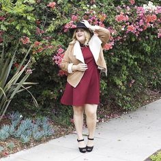 Another fave from my #AVAandVIV look book! What do you guys think of the @targetstyle fall collection so far?? Check out the rest of my looks on www.nicolettemason.com