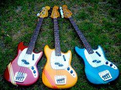 1972 Fender Mustang Basses Fender Bass Guitar, Fender Electric Guitar, Bass Ukulele, Fender Guitars, Guitar Amp, Fender Vintage, Vintage Bass, I Love Bass, Fender Precision Bass