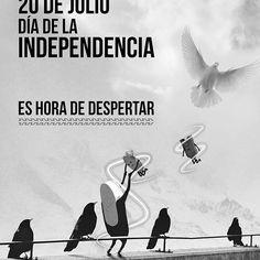 20 de Julio #DíaDeLaIndependencia de Colombia ! Es hora de despertar #Kaestudios #weAreKa