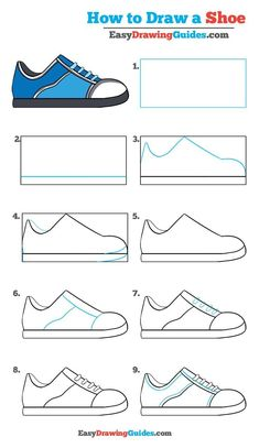 Learn How to Draw a Shoe: Easy Step-by-Step Video Drawing Tutorial for Kids and Beginners #shoe #drawing #tutorial See the full tutorial at https://easydrawingguides.com/how-to-draw-a-shoe-really-easy-drawing-tutorial/