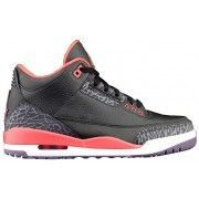 Air Retro Jordan 3 Bright Crimson Black Crimson-Bright Violet 136064-005 A03017 $104.00   http://www.thebluekicks.com/