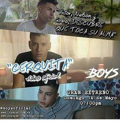 Otro flayer de parte del @fc_boys_ccs_oficial_team_3_ccs NO TE PUEDES PERDER EL ESTRENO DEL VIDEO OFICIAL CERQUITA ESTE 14 DE MAYO A LAS 7:00PM #losboyscerquita #cerquita #losboys #flayer #14demayo @nelsonelprince @gabo_boys @victor_boys1 @boysoficial #Team3boysccsoficial
