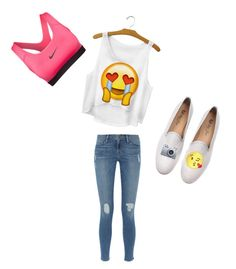 """emjio"" by soabuns ❤ liked on Polyvore"