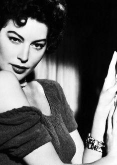 Ava Gardner in a still for 'Mogambo' (1953)