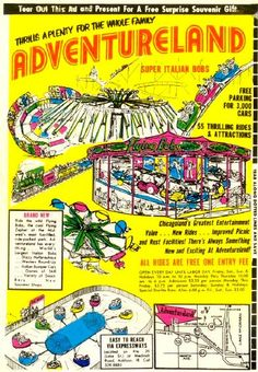 Adventureland Amusement Park (Addison IL 1961 -1977)...spent time here with my friends when I was a kid.