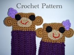 Crochet Monkey Leg Warmers PATTERN PDF