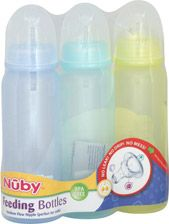 Nuby Medium Flow Feeding Bottles