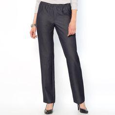 Imagen de Vaqueros de cintura elástica, de sarga stretch ANNE WEYBURN